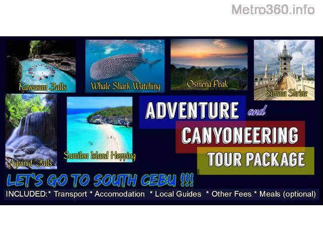 Adventure and Canyoneering Package Tour