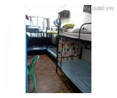 Male Apartment Bedspace Dormitory KATIPUNAN Ateneo UP P4900 ALL-IN AIRCON