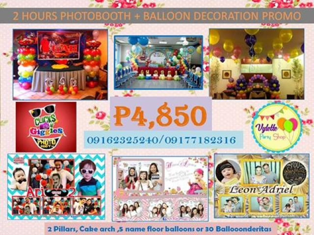 Food Cart, Candy Buffet, Souvenir, Giveaway, Balloon Decors