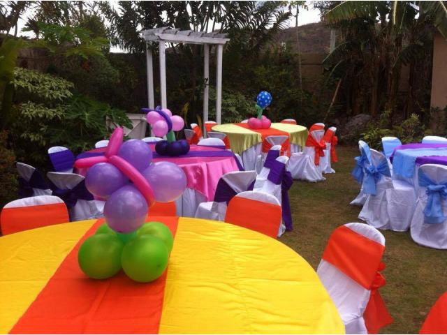 Catering with party needs