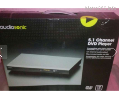 Audiosonic dvd player w/usb reader