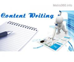 Content Writing and Editing Consultancy Services