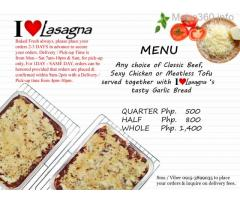 Baked Lasagna for Your Meetings, Gatherings, Parties & Other Occasions